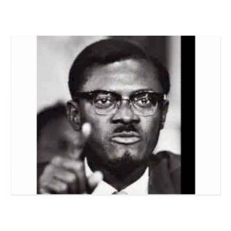 Lumumba Postcard
