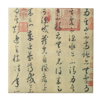 Lun Shu Tie(论书帖)by Huai Su(怀素) Tile