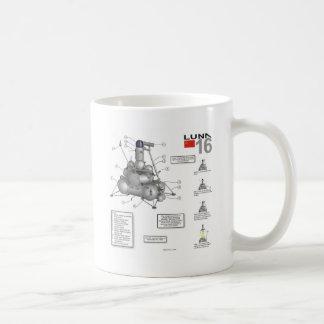 Luna 16 Illustration Classic White Coffee Mug