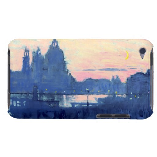 Luna 1901 del oro de Venecia Case-Mate iPod Touch Cárcasa
