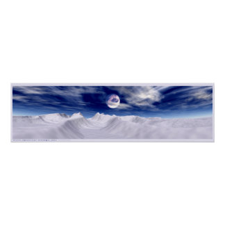Luna ártica poster