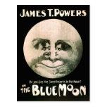 Luna azul 1906 del poster de las artes interpretat tarjetas postales