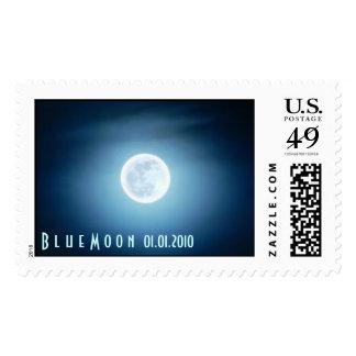 Luna azul 2010 franqueo