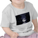 Luna azul camisetas