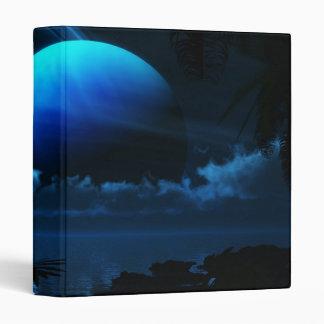 Luna azul - carpeta multiusos