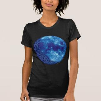 Luna azul céltica t-shirts
