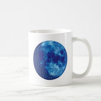 Luna azul céltica taza clásica