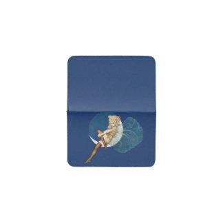 Luna azul de las medias de hadas azules bonitas