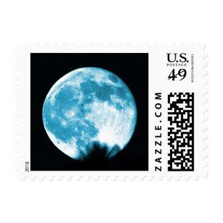 Luna azul del franqueo de 2015 sellos