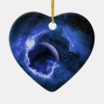 Luna azul ornamento para reyes magos
