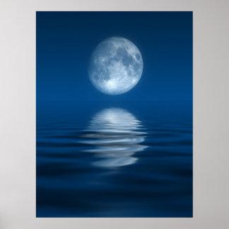 Luna azul posters
