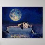 Luna azul póster