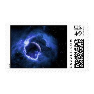 Luna azul sello