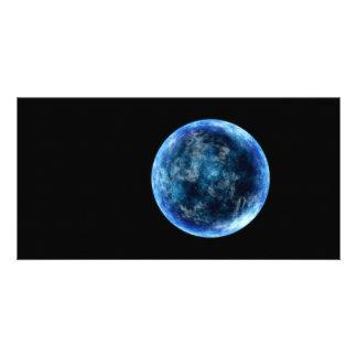 luna azul tarjetas personales
