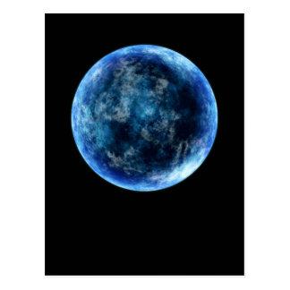 luna azul tarjetas postales