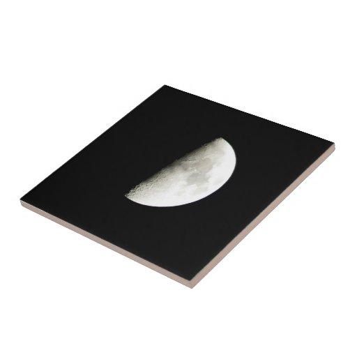 Luna Azulejo Cuadrado Pequeño