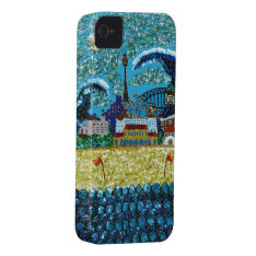 Luna Bondi Sequin Art iPhone 4 Barely There iPhone 4 Cover at Zazzle