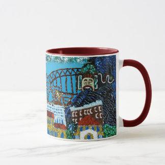 Luna Bondi Sequin Art mug