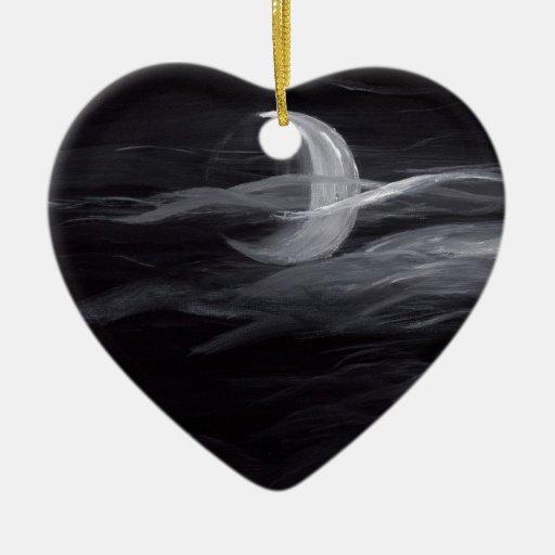 Luna brumosa ornamente de reyes