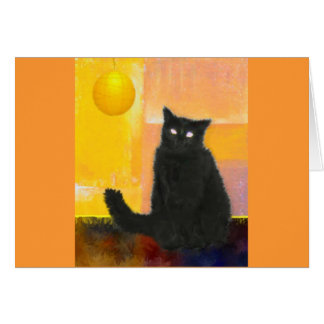 Luna by Lamplight Stationery Note Card