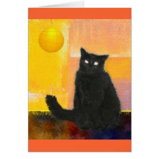 Luna by Lamplight Card