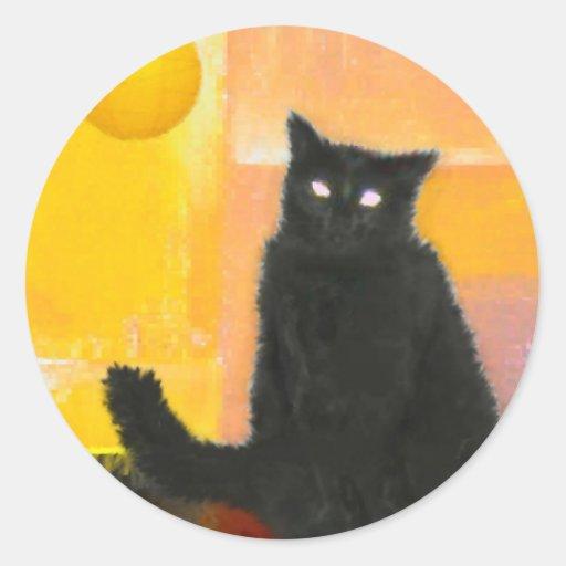 Luna by Lamplight Sticker