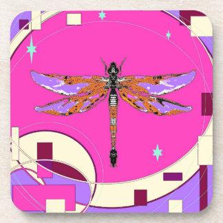Luna celestial de la libélula rosada por Sharles Posavasos