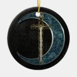 Luna céltica ornamentos para reyes magos