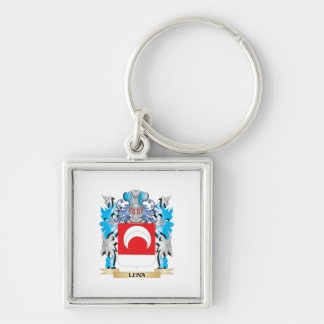 Luna Coat of Arms - Family Crest Keychains