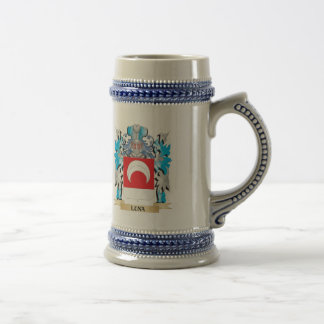 Luna Coat of Arms - Family Crest Mugs