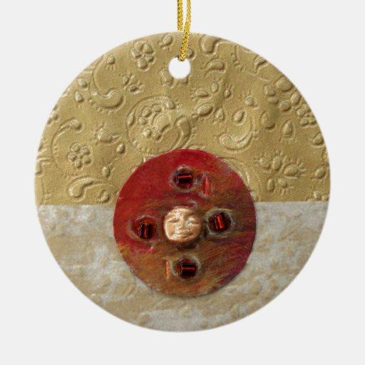 Luna - collage adornos de navidad