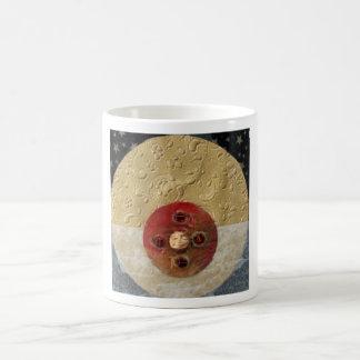 Luna - collage coffee mugs