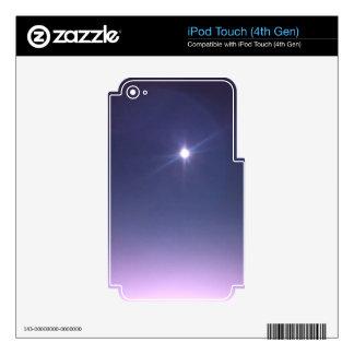 Luna cósmica skins para iPod touch 4G