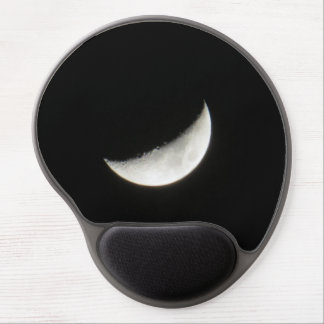 Luna creciente alfombrilla de raton con gel