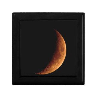 Luna creciente caja de joyas