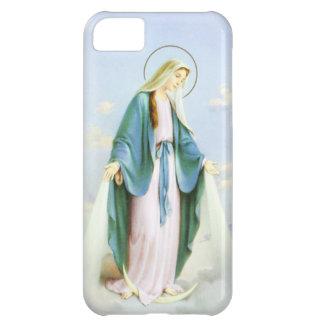Luna creciente iPhone5C del Virgen María