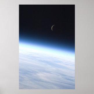 Luna creciente impresiones