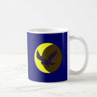 Luna cuervo moon raven taza