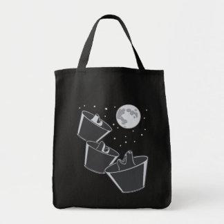 Luna de 3 lobos del mascota bolsas