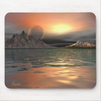Luna de Antartica Tapetes De Ratones