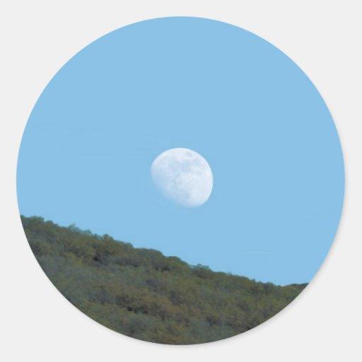 Luna de Arizona Etiquetas Redondas