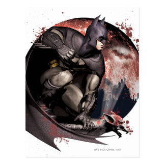Luna de Batman de la ciudad de Arkham Postal