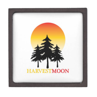 Luna de cosecha caja de joyas de calidad