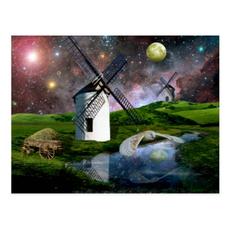 Luna de cosecha tarjetas postales