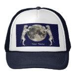 Luna de Dalmation Gorras