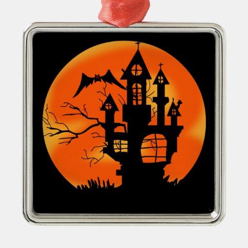 Luna de Halloween Ornamente De Reyes