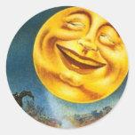 Luna de Halloween - pegatina
