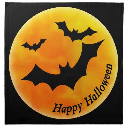 Luna de Halloween Servilleta