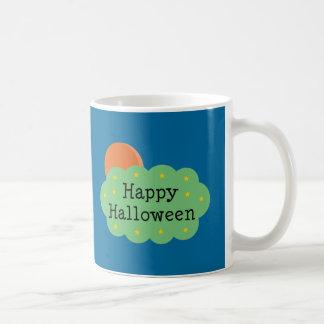 Luna de Halloween Taza De Café