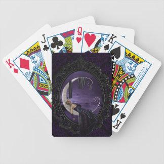 Luna de la lavanda barajas de cartas
